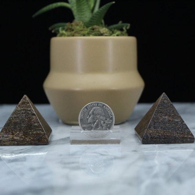 Bronzite Pyramid