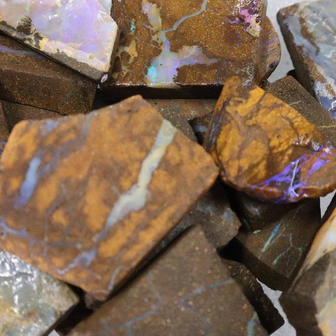 Boulder Opal Slices