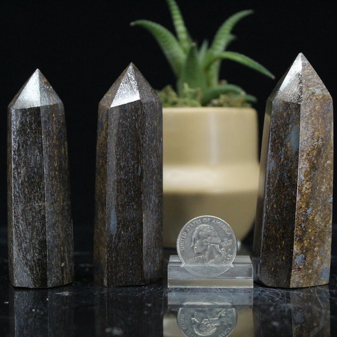 "Bronzite Tower/Point-Medium (2-3"")"
