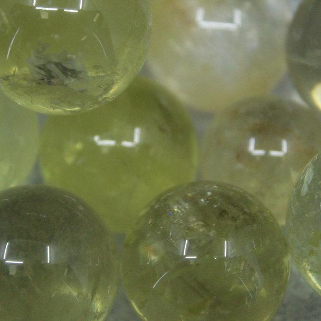 Citrine Sphere Orb-20-25mm