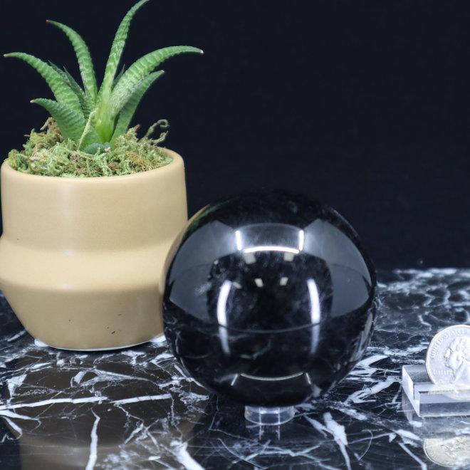 Black Tourmaline Sphere Orb-70mm