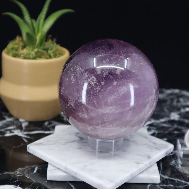 Amethyst Sphere Orb-80mm