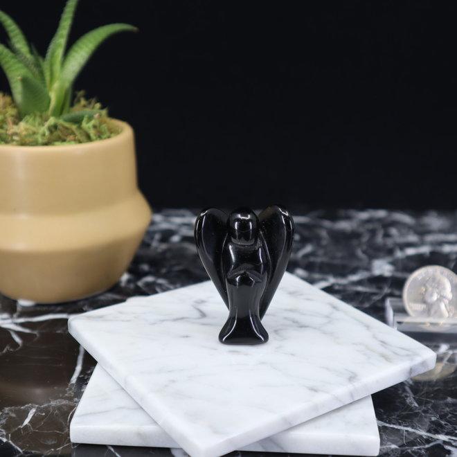 """Black Obsidian Angel-Medium 2"""""""