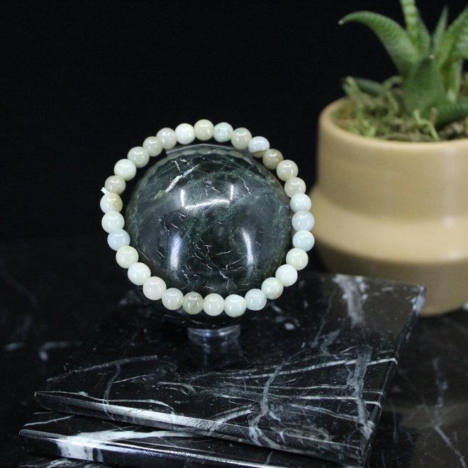 Burmese Jade Bracelet-6mm