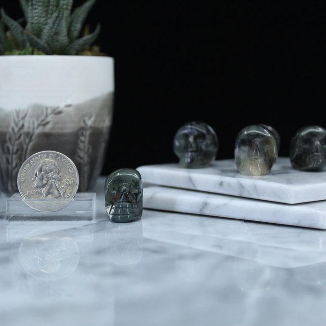 Bloodstone Skull-Mini