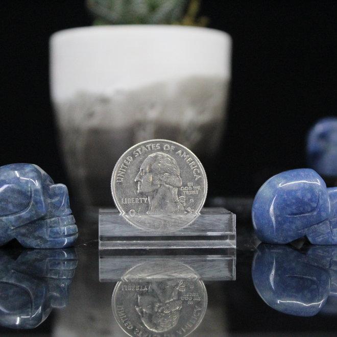 Blue Aventurine Skull-Mini