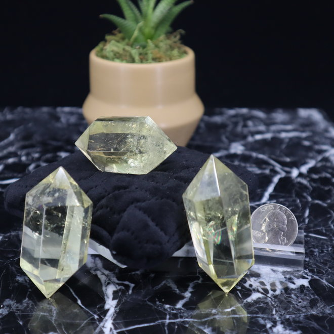Citrine Double Terminated Point - Small