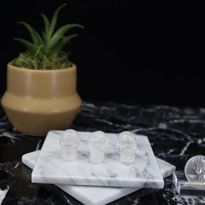 Clear Quartz Skull - Mini