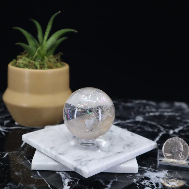 Clear Quartz Sphere Orb-45mm