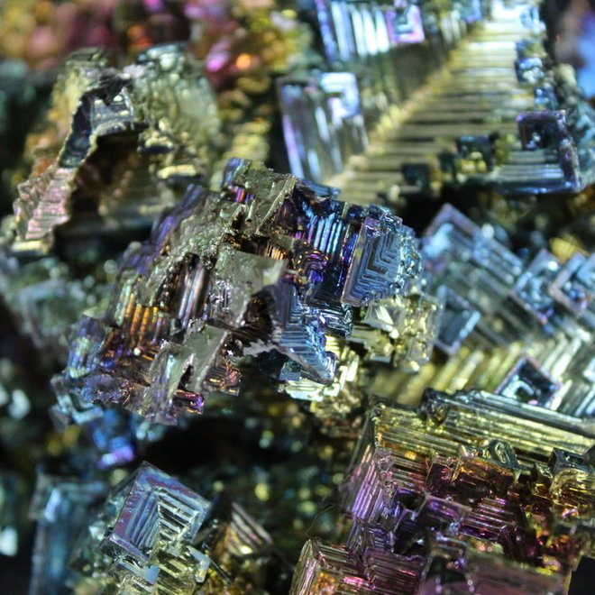 Bismuth - Small Rough Raw Natural