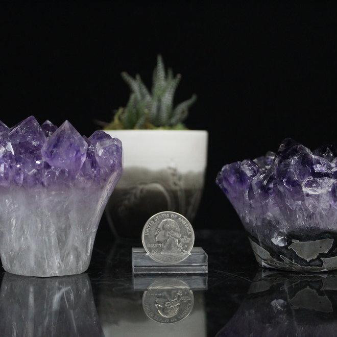 Amethyst Druzy Flower-Large