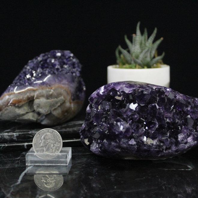 Amethyst Druzy Polished Free Form-Medium (AAA Grade)