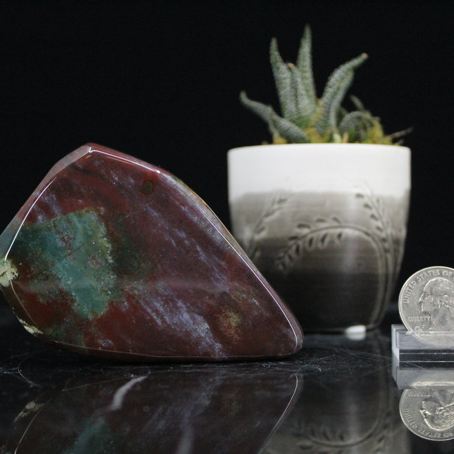 Bloodstone Free Form Small
