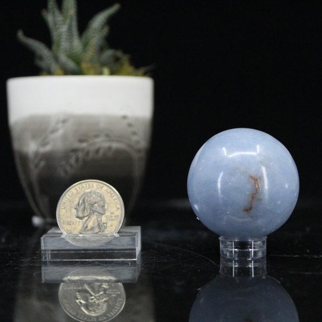 Angelite Sphere Orb-40mm
