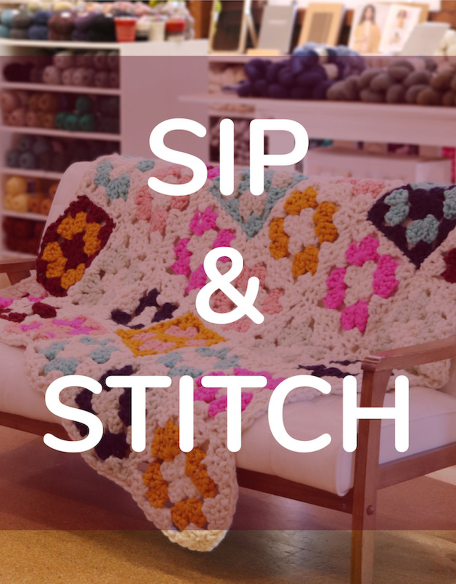 Cast Away Sip & Stitch