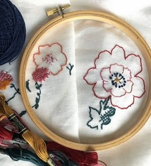 Cast Away Introduction to Embroidery April 23 / 5-8