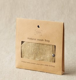 Cast Away Cocoknits Natural Mesh Bag