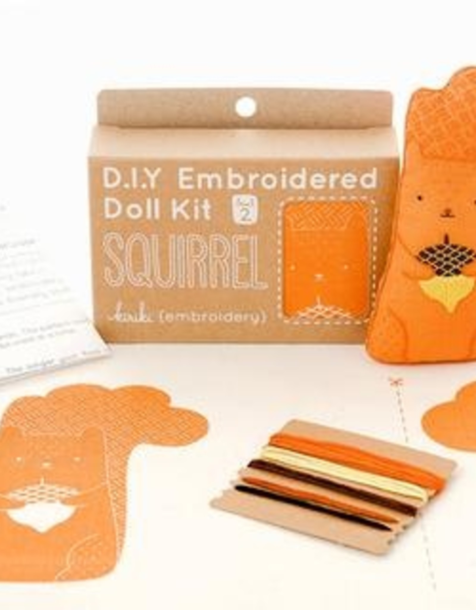 Kiriki Press Kiriki Press Embroidery Kit