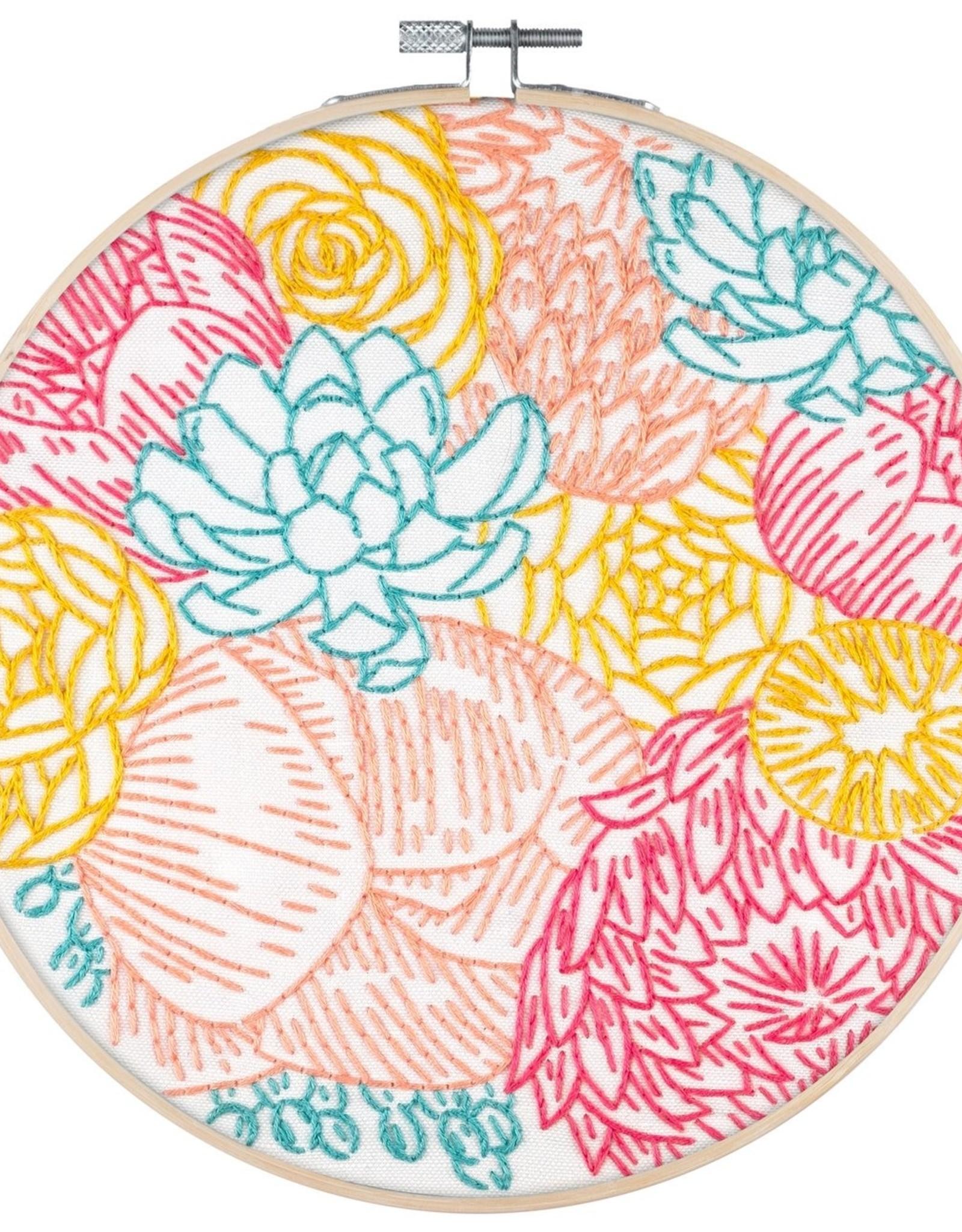 Cast Away PopLush Embroidery Kit