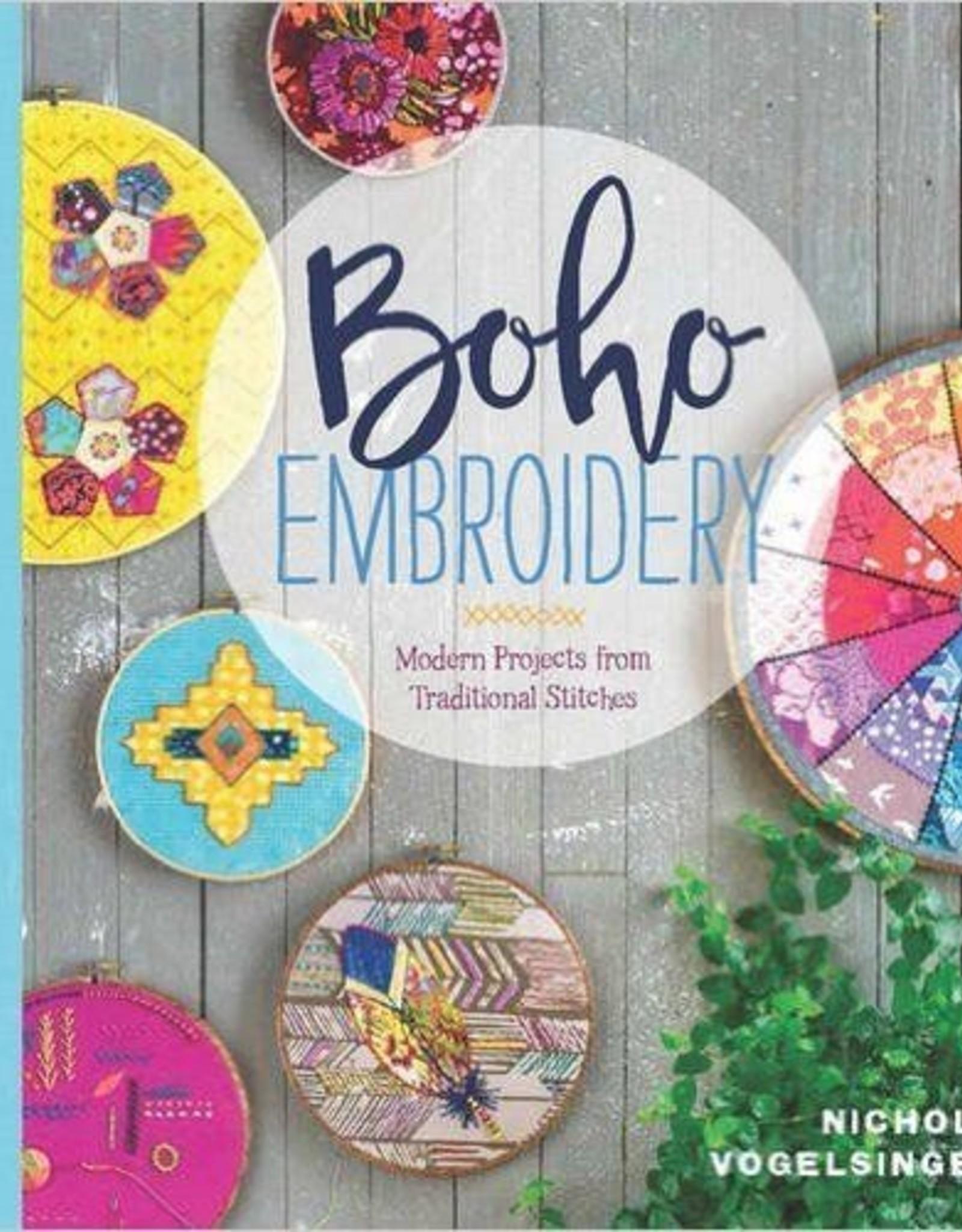 Cast Away Boho Embroidery Book