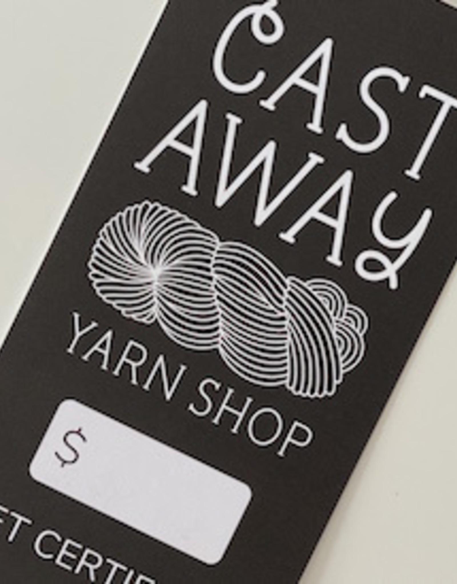 Cast Away Gift Card