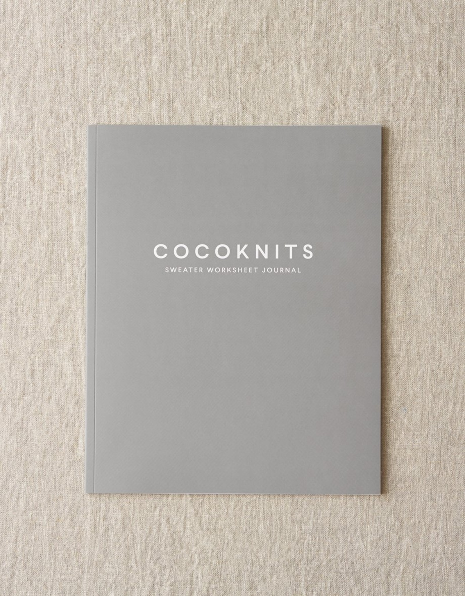 Cocoknits Cocoknits Sweater Worksheet Journal