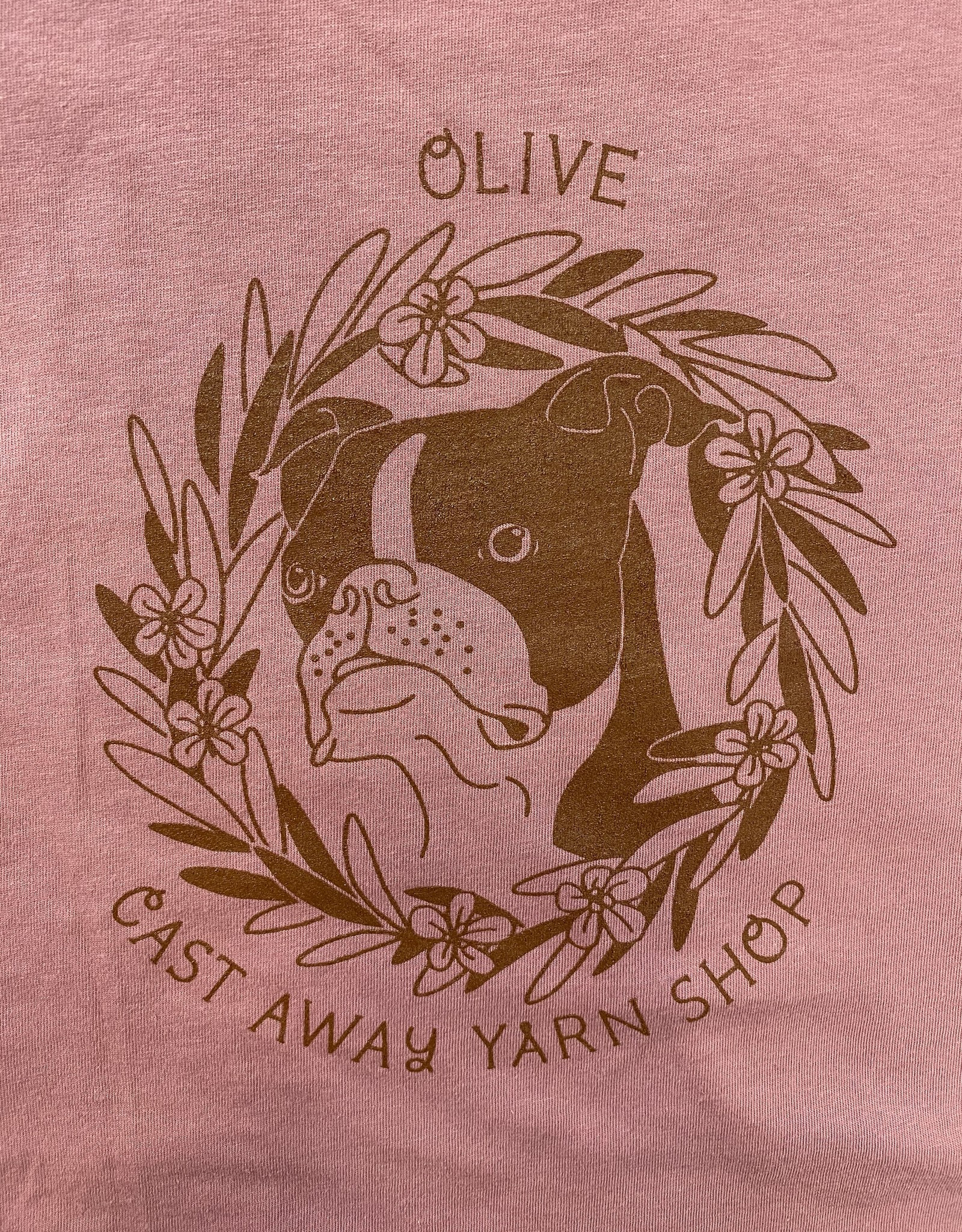 "Cast Away ""Olive"" T Shirt"