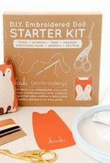 Cast Away Kiriki Embroidered Doll Starter Kit