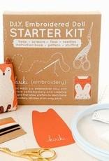 Kiriki Press Kiriki Embroidered Doll Starter Kit