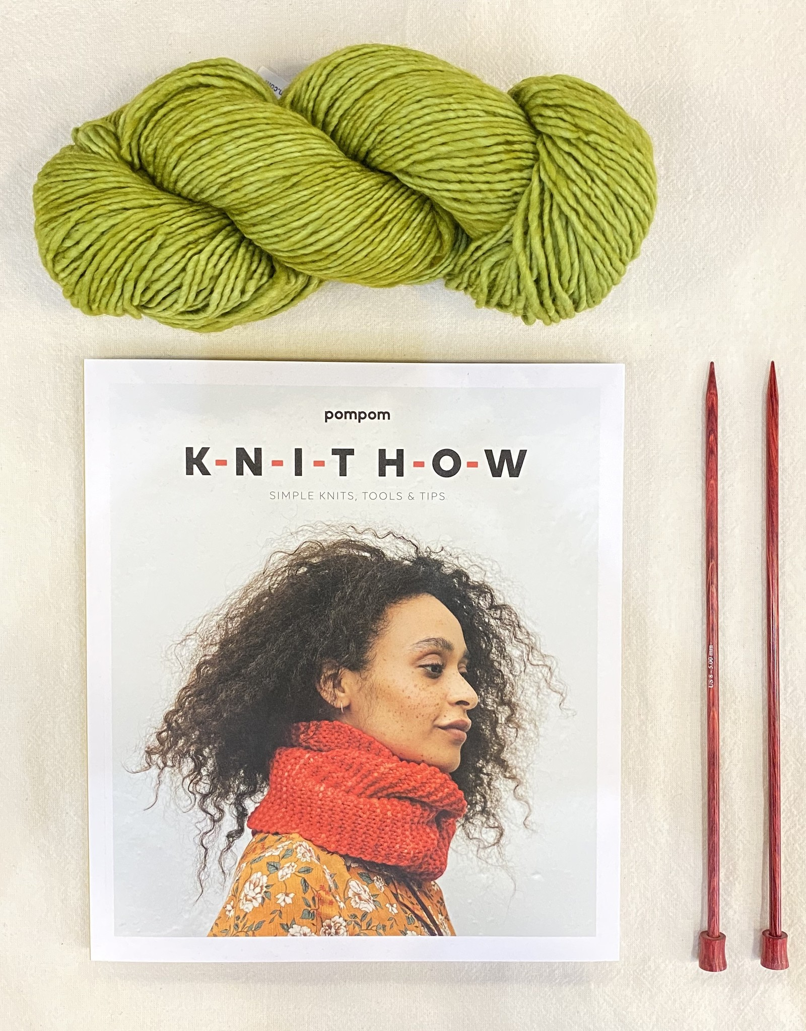 Cast Away Learn to Knit Kit