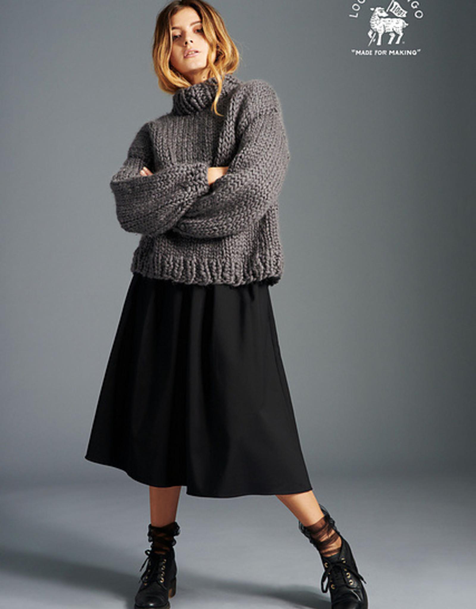 Loopy Mango Sweater