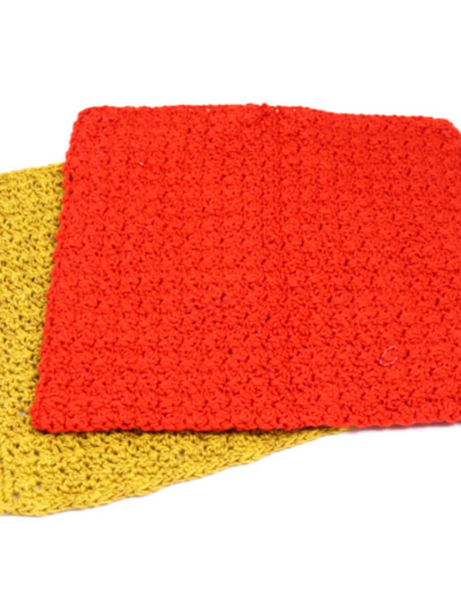 Crochet Dishcloth Class