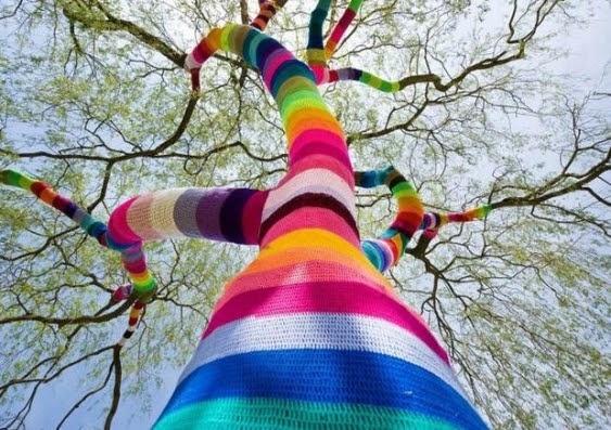 Yarn Bombing: The Art of Urban Knitting