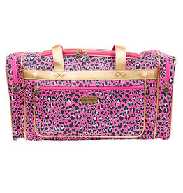 SIMPLY SOUTHERN LEO PINK DUFFLE