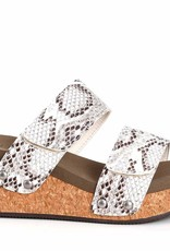 CORKYS Corky's Shaw Wedge in White Snake