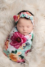 POSH PEANUT POSH PEANUT SWADDLE HEADBAND OR HAT SET