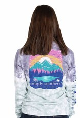 SIMPLY SOUTHERN LIVE THE SIMPLE LIFE LONG SLEEVE T-SHIRT