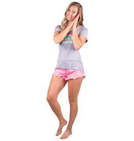 SIMPLY SOUTHERN GOOD VIBES PAJAMA SET