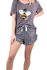 SIMPLY SOUTHERN BEE HAPPY PAJAMA SET