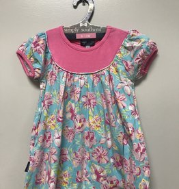 SIMPLY SOUTHERN TROPIC TODDLER FLARE DRESS