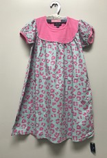 SIMPLY SOUTHERN LEOPARD TODDLER FLARE DRESS