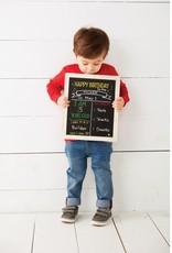 MUD PIE BIRTHDAY AND SCHOOL CHALKBOARD