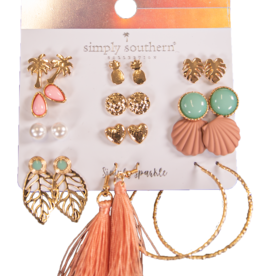 SIMPLY SOUTHERN SIMPLY SOUTHERN EARRING SET