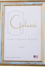 F.G. GALASSI MOULDING CO. BLUE & GOLD 5X7 FRAME