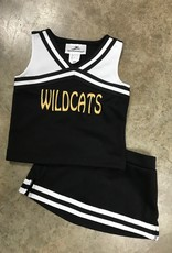 MOTIONWEAR LLC. WILDCATS CHEER UNIFROM