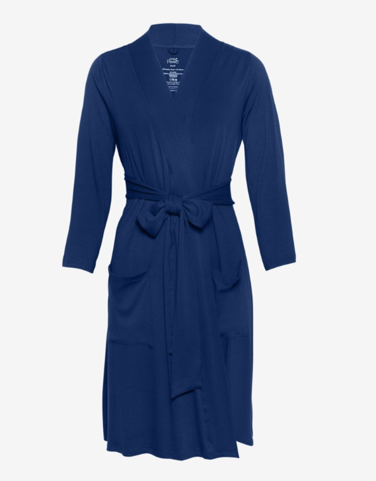 POSH PEANUT MOMMY ROBE - SAILOR BLUE