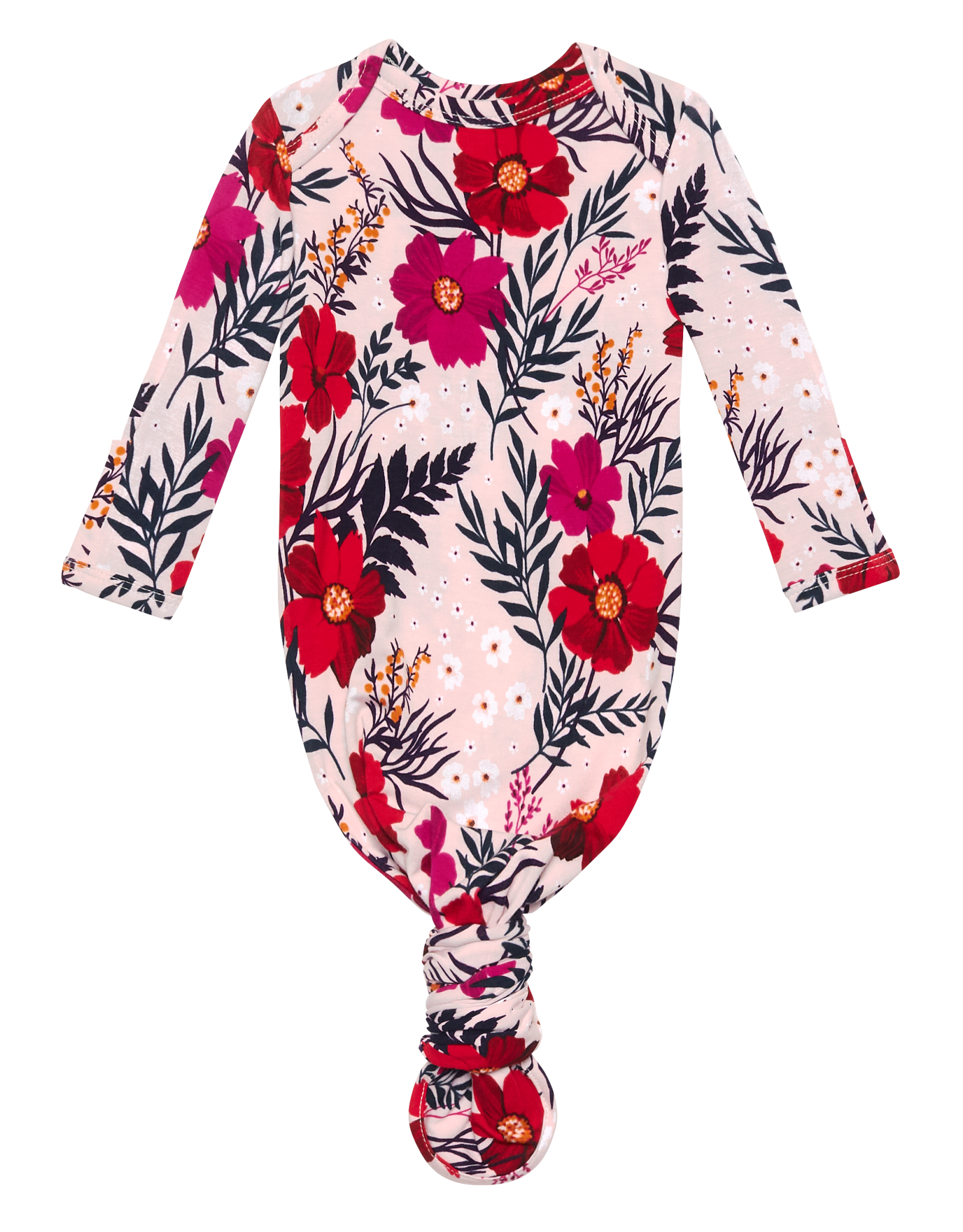 POSH PEANUT CHLOE - KNOTTED GOWN  0-3 MONTHS