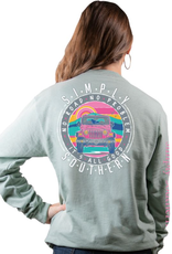 SIMPLY SOUTHERN NO ROAD - SIMPLY SOUTHERN LONG SLEEVE T-SHIRT