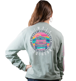 SIMPLY SOUTHERN NO ROAD -HAZEL LONG SLEEVE