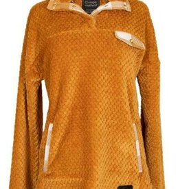 SIMPLY SOUTHERN SIMPLY SOFT PULLOVER MUSTARD